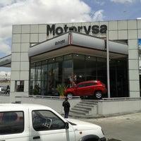Photo taken at Motorysa Mitsubishi Colombia by Fernando M. on 8/31/2013