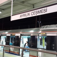 Photo taken at Marmaray Ayrılıkçeşme İstasyonu by Koray A. on 10/29/2013