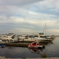Photo taken at Sheboygan Harbor Center Marina by Joe N. on 6/15/2014