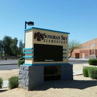 Photo taken at Sonoran Sky Elementary by David L. on 3/17/2016