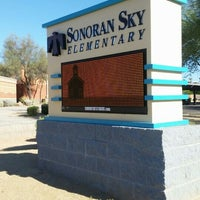 Photo taken at Sonoran Sky Elementary by David L. on 7/13/2016