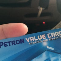 Photo taken at Petron Service Station by Marc M. on 7/1/2017