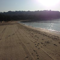 Photo taken at Plage de Pampelonne by Mikael P. on 7/24/2013