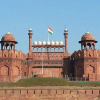 Photo taken at Red Fort (Lal Qila) by Arun K. on 1/20/2013