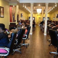Photo taken at Nails & Beyond by Han H. on 12/10/2013