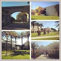 Photo taken at FIU - University Park Campus by Tiago V. on 1/23/2014
