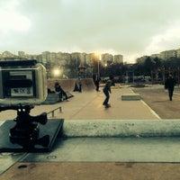 Das Foto wurde bei Alibeyköy Skatepark von Salih Y. am 12/29/2013 aufgenommen