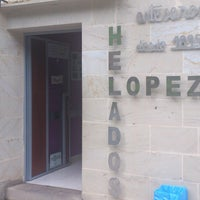 Photo taken at Heladeria Lopez by Víctor A. on 9/20/2013