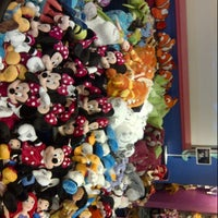 Photo taken at Disney Store by moh m. on 6/22/2013