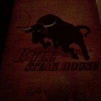 Photo taken at Bull Steak House by Omar S. on 6/22/2013