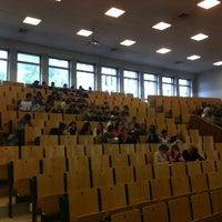 Photo taken at Université Saint-Louis by Michel D. on 9/12/2013