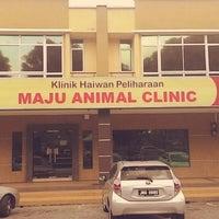 Photo taken at Maju Animal Clinic by @hollanantha on 7/11/2014