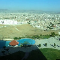 Photo taken at Mövenpick Hotel Sana'a by zizoo on 5/11/2014