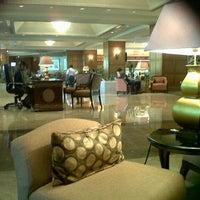 Photo taken at Shangri-La Hotel by Ica N. on 10/9/2013
