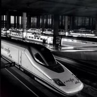 Photo taken at Madrid-Puerta de Atocha Railway Station by David A. on 3/14/2013