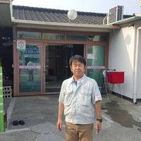 Photo taken at 왜관역 by Koji M. on 5/6/2016
