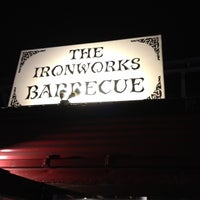 Photo taken at Iron Works BBQ by Erich M. on 3/16/2012