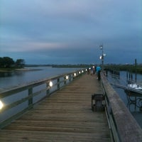 Photo taken at Murrell's Inlet Marshwalk by Bob Q. on 8/24/2012