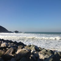 Photo taken at Pacific Ocean by Will 李. on 1/1/2013