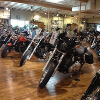 Photo taken at Dudley Perkins Co. Harley-Davidson by Will 李. on 4/22/2013