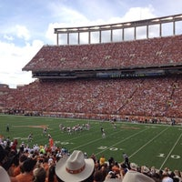 Photo taken at Darrell K Royal-Texas Memorial Stadium by Etienne P. on 11/10/2012
