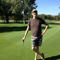Photo taken at Harvard Gulch Golf Course by Christopher B. on 9/2/2013