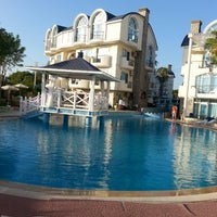 Photo taken at Seahorse Deluxe Hotel by Volkan B. on 8/29/2013
