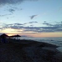 Photo taken at Beach of Lyttos Beach by Inesa V. on 9/26/2013
