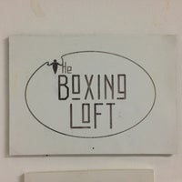 Photo taken at The Boxing Loft Social Club by Patrick T. on 11/9/2012