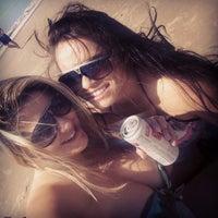 Photo taken at Praia do Barco by Bianca M. on 2/15/2014