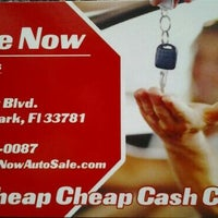 Photo taken at Drive Now Auto Sales by Patricia N. on 7/2/2013