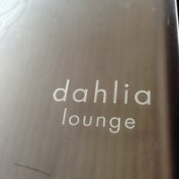 Photo taken at Dahlia Lounge by Amanda N. on 1/11/2013