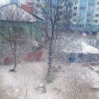 Photo taken at Вулиця Матейка by Victoria R. on 4/3/2015