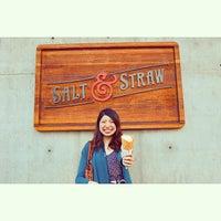 Foto tirada no(a) Salt & Straw por Yuji O. em 3/18/2015