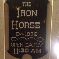 Photo taken at The Iron Horse by Joanna H. on 10/19/2013