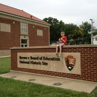 Photo taken at Brown vs. Board of Education National Historic Site by Julie K. on 6/15/2013