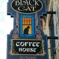 Photo taken at Black Cat Coffeehouse by Bobbi S. on 7/24/2016