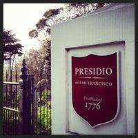Снимок сделан в Presidio: Presidio Gate пользователем Jason K. 3/18/2013
