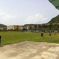 Photo taken at Campo De Futbol de La UDO by Onni H. on 8/4/2013