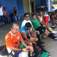 Photo taken at Campo De Futbol de La UDO by Onni H. on 11/1/2014