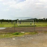 Photo taken at Campo De Futbol de La UDO by Onni H. on 8/10/2013