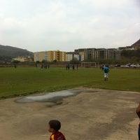 Photo taken at Campo De Futbol de La UDO by Onni H. on 5/26/2013