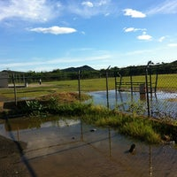 Photo taken at Campo De Futbol de La UDO by Onni H. on 7/28/2013