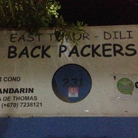 Photo taken at East Timor Backpackers Hostel & Bar by Agung R. on 3/23/2013