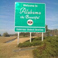 Photo taken at Alabama / Florida State Line by Jason S. on 2/7/2014