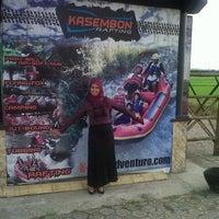 Photo taken at Kasembon Rafting by Eka P. on 9/26/2013