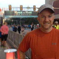 Photo taken at San Antonio Rock N Roll Marathon by Mary F. on 11/11/2012