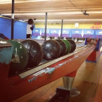 Photo taken at Stoneleigh Duckpin Bowling Center by Aaron K. on 11/23/2012