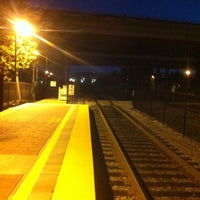 Photo taken at Hayward Park Caltrain Station by Jason S. on 1/7/2013