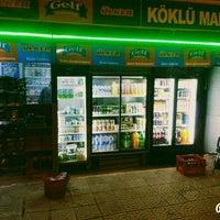 Photo taken at köklü market by Mustafa K. on 2/25/2016